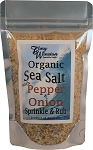 Organic Sea Salt with Pepper and Onion